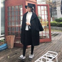 Wholesale Europe And The United States Autumn And Winter Women S New Loose Long Sleeved Woolen Coat Long Wild Fur Coat Wsm