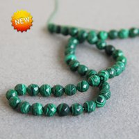 azurite crystals - Hot Sale mm New Faceted Green Natural Azurite stones Malachite beads jasper beads DIY jade inch Jewelry making