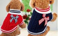 Купить Вип домашние животные-Оптовая одежды любимчика собаки темно-синий свитер VIP одежды осенью и зимней одежды свитер Тедди поставок одежды