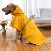 Wholesale dog clothes raincoats rain coat snow coat pet clothes cat Waterproof Spring and Summer pet clothes fashion Colors Cheap