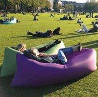 13 colores de aire inflable rápido sofá con bolsa de camping camping sofá cama de aire colchón de aire al aire libre perezoso lugar de la cama de aire PPA205