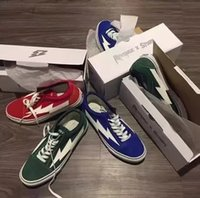 Wholesale YSOOXC Revenge of the storm REVENGE x STORM joint lightning KANYE little brother works four color men and women shoes with box