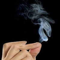 Wholesale 5pcs Adorable Finger Smoke Magic Trick Magic Illusion Stage Close Up Stand Up factory price Christmas Halloween jok gift
