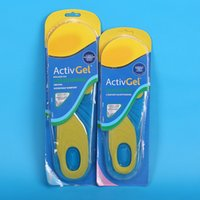 Wholesale Foot Treament Insole Health Soft Silicone Shock Absorbing Sports Insole for Men and Women