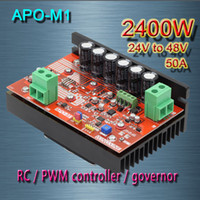 Wholesale APO M1 DC brush motor PWM controller RC speed controller W MAX V V