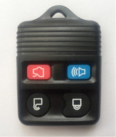Wholesale Car remote Key shell Remote Fob black transmitter control for Ford