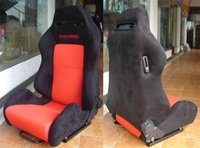 Wholesale One Adjustable Series Racing Seats SPD Steel Frame Black Blue Red Alcantara Suede Cloth