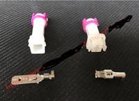 male and female automotive harness connectors - set Pin Female Male Kit Map Sensor Battery Spring DC Electrical Harness Automotive Connector Toyota