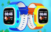 GPS enfant Smart Watch Q90 écran tactile WIFI Positionnement des enfants SOS Call Localisation Finder Device Tracker Safe Anti Lost Monitor
