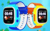 GPS niño Smart Watch Q90 pantalla táctil WIFI Posicionamiento de los niños SOS Llamada Ubicación Finder Seguimiento del dispositivo Segura Anti Lost Monitor