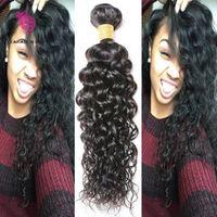 Wholesale Grade A Brazilian Virgin Hair Weave Brazilian Curly Bundles g Human Hair Bundles Malaysian Loose Curly Virgin Hair Bundles