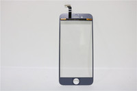 Wholesale For iPhone P High Quality G G Glass Touch Screen Digitizer With Cold Press Middle Bezel Frame TP Repair