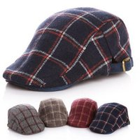 beret hat pattern - New Fashion Baby Kids Beret Ball Caps Peaked Cap Jazz Hat Children Boy Casual Hats Classic Plaid Pattern Cool Hat