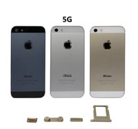 Wholesale for iphone s g back cover housing cell phone battery door cover replacement full housing mobile phone panel DHL