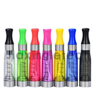 Wholesale 50PCS EGO CE4 Atomizer With Mix Colors Ce4 Clearomizer ml Vapor Tank Electronic Cigarette Ce4 Ce5 Ce6 Ce7 Ce8 Ce9 Atomizer