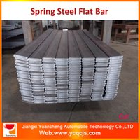 Wholesale Hot Roll Medium Carbon Round Edge Spring Steel Flat Bar