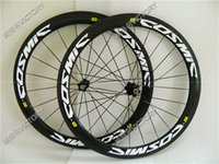 Wholesale Newest c carbon wheelset mm clincher carbon fiber bike wheels with Novatec or Powerway hub speed available