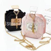 Wholesale European and American fashion lovely perfume bottle tassel ladies handbag shoulder bag across body colors
