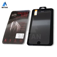 Wholesale For Iphone Plus Iphone S Top Quality Tempered Glass Film Screen Protector MM D Ship within day