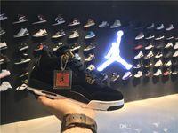 Air Retro 4s Jordan 4 Hombres Mujeres Jordans Zapatos de baloncesto Realeza 308497-032 36-40 Jordania con caja original