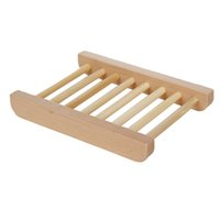 Wholesale Wooden Soap Dishes Bathroom Tray Holder Soap Box