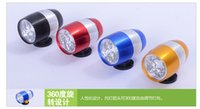 best front bike lights - Best price LED mini Cycling Bike Bicycle Front Head Light Warning Lamp Safety Waterproof headlight with Lamp Holder