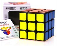 Wholesale 3 magic cube Yongjun YJ MoYu AoLong Magic Puzzle Cube Top Speed Crazy Windmill Weilong Puzzle Pyraminx Cubes Educational Toys