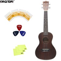 Wholesale High quality Many free gifts Ukulele Strings Frets Rosewood material with packaging portable instruments