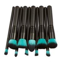Wholesale 10Pcs Women Makeup Brush Set Professional Eyebrow Eyeshadow Powder Foundation Brush Cosmetic Make Up Tools Toiletry Kit