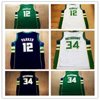 Wholesale Giannis Antetokounmpo Jerseys Men s Basketball Jabari Parker Khris Middleton Greg Monroe Michael Carter Williams