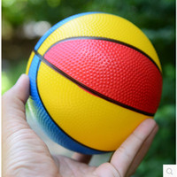 basketball beach balls - 10pcs Inflatable Balls Inch New Thickening Colorful Basketball Toy For Children Outdoor Sports Pat Ball baby gifts