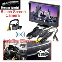 Wholesale Car Rear View Wireless Backup Reverse Camera Night Vision quot TFT LCD Monitor