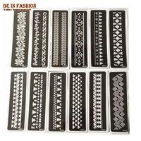 arabic templates - henna tattoo stencils for painting body art glitter airbrush stencil templates on hand feet arm Indian Arabic sheets