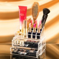 Wholesale Acrylic Makeup Organizer Plastic Cosmetic Necessaries Drawer For Women Makeup Storage Drawer Organizer Box