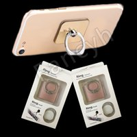 Wholesale Luxury Phone holders Degree ring Holder hook card holder For Cell Phones Tablets Car with Retail Package