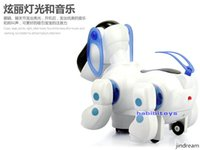 Wholesale Light music shine intelligent machine dog pet dog children toy