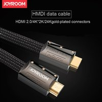For Blackberry apple tv black - JOYROOM HDMI Cable gold plated high speed M P K Full HD D Gbps HDMI For TV Projector computer ps3 LCD laptop pc