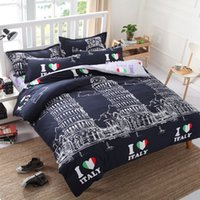 Wholesale Piece Bedding Sets manufacturer supplier in China offering Fashion Hotel Home Cotton Bedding Set with Comforter Set no02