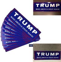accessories president - 10pcs set Car Decals Donald Trump for President Make America Great Again Bumper Sticker Pack Exterior Accessories