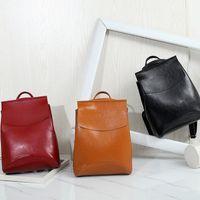 backpack spanish - Spanish Brand Design Pu Women Leather Backpacks School Bag Student Backpack Ladies Women Bags Leather Package Female