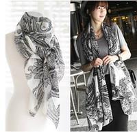 air fluid - Summer super soft fluid fashion big cashew scarf air conditioning cape sun silk scarf female