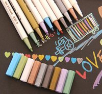 Wholesale DIY Cute Kawaii Water Chalk Pen Watercolor Gel Pen for Black Board Photo album Home Decoration Scrapbooking