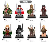 archer ring - lord of the Rings mini building blocks figures Eomer Mordor Orc Aragorn Archer Uruk Hais Eowyn Wraith Theoden Toys X0142