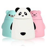 bear air purifier - Mini Cartoon Bear Design USB Humidifier Air Cleaner Purifier Freshener Mist Maker Fogger For Office Car Room