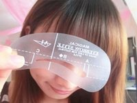 Wholesale Brand new Magic Eyebrow Stencil Makeup Styles Eye Brow Template Make Up Tool shape
