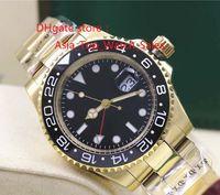 2017 El nuevo reloj de alta calidad de lujo Asia 2813 Movimiento mecánico 40MM negro bisel de cerámica GMT 116718 16718 Automatic Mens Watch