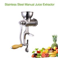 Wholesale Hand operated vegetable and fruit juicer Domestic use manual juicer with tin plated surface