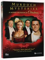 Wholesale Murdoch Mysteries A Merry Murdoch Christmas Movie disc US Version Boxset Region Best Christmas Movie with Your Family