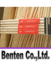 Wholesale llfa1235 High Quality A Music Band Maple Oval shaped wooden Wood Drum Sticks Drumsticks