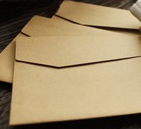 Wholesale mm New vintage Europen style Kraft paper envelopes DIY Multifunction wedding gift envelope Window envelopes